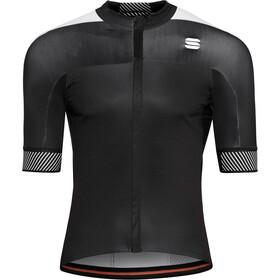 Sportful Bodyfit Pro 2.0 Classics Koszulka rowerowa z zamkiem błyskawicznym Mężczyźni, black/white